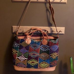 Mexican style embroidered bag